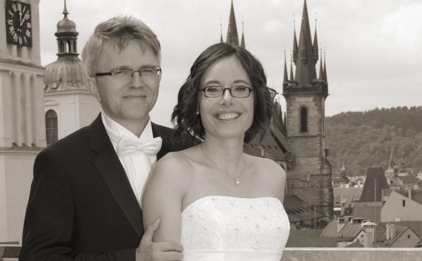 Wir haben geheiratet! | Vzali jsme se!